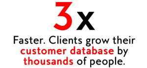 grow customer database