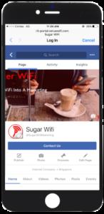 Social WiFi Website Redirect