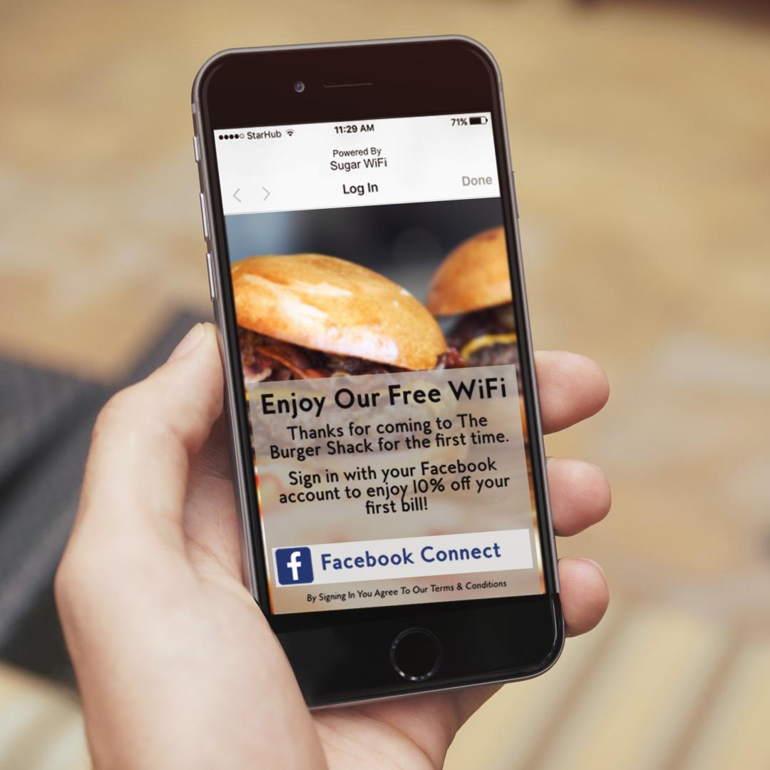 Sugar WiFi Restaurant Marketing
